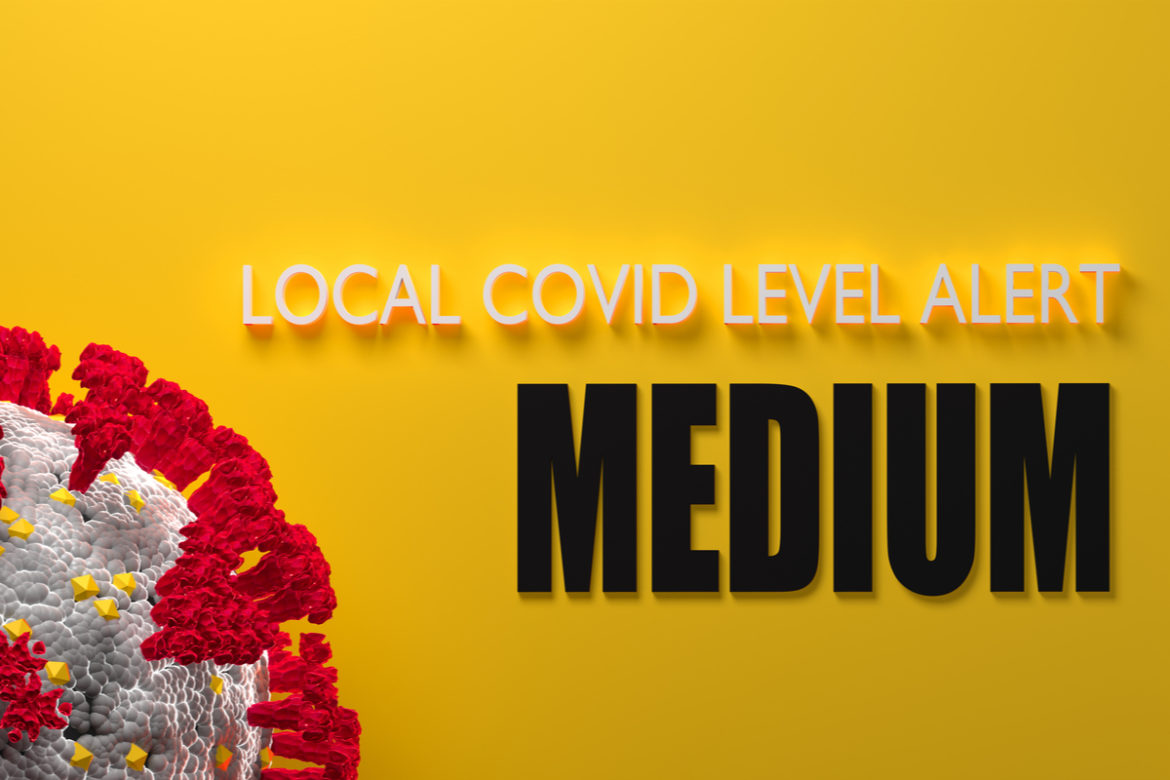 LA County moves into the yellow tier category for Covid-19.